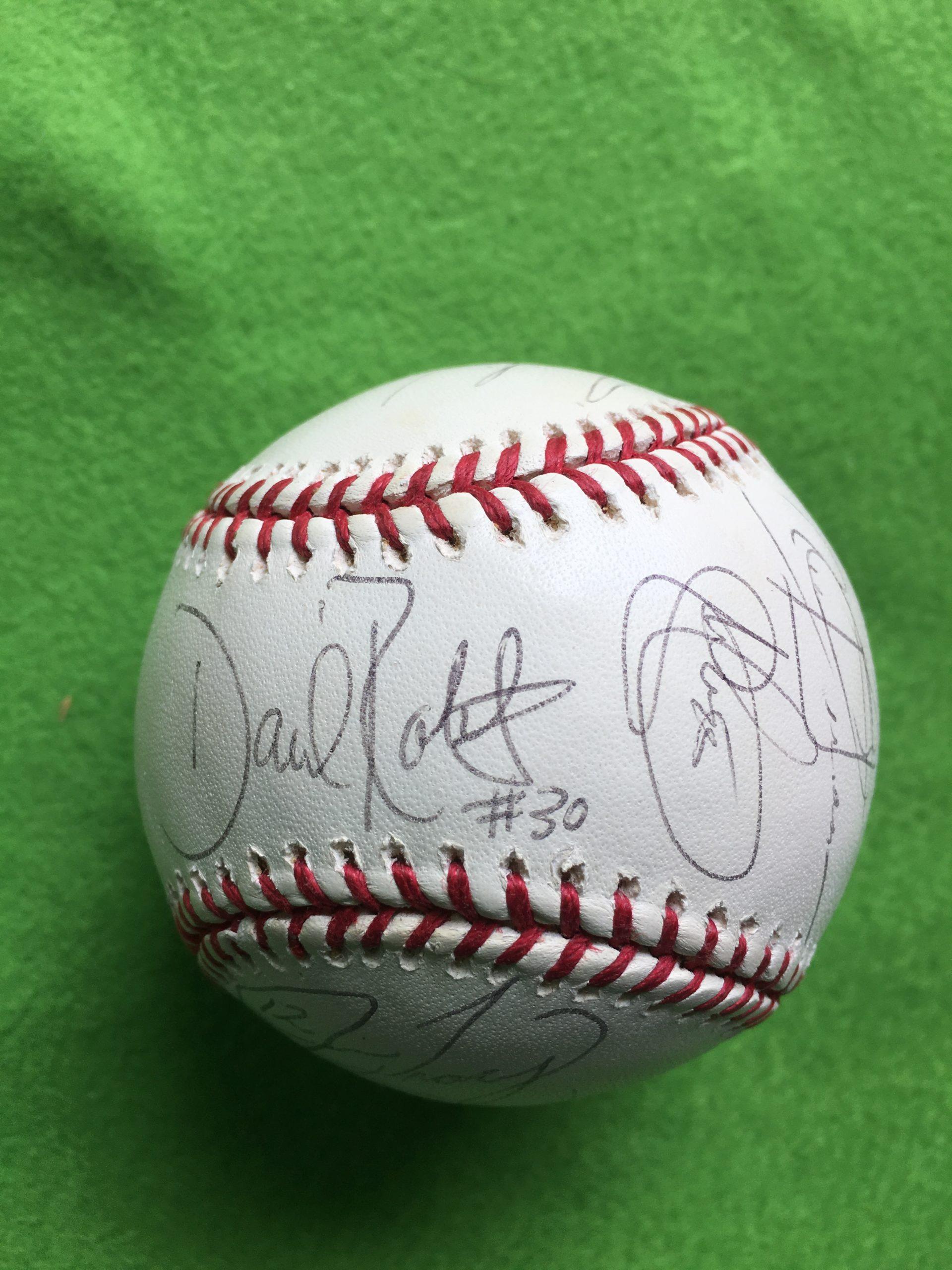 野茂英雄 2003年ドジャース15選手トミーラソーダ他 直筆サインMLB公式ボール